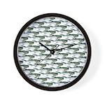 Dunkleosteus pattern Wall Clock