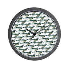 Dunkleosteus pattern Wall Clock