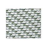 Dunkleosteus pattern Throw Blanket