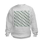 Dunkleosteus pattern Sweatshirt