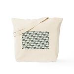 Dunkleosteus pattern Tote Bag