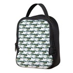 Dunkleosteus pattern Neoprene Lunch Bag