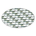 Dunkleosteus pattern Sticker