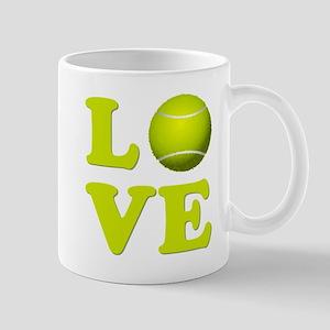 I Love Tennis Mugs