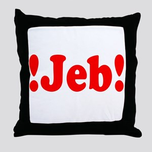 Latinos for Jeb Bush 2016 Throw Pillow