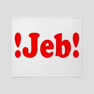 Latinos for Jeb Bush 2016 Throw Blanket