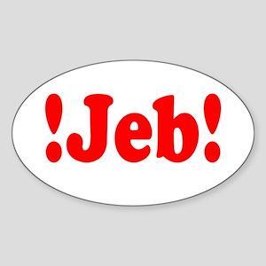 Latinos for Jeb Bush 2016 Sticker