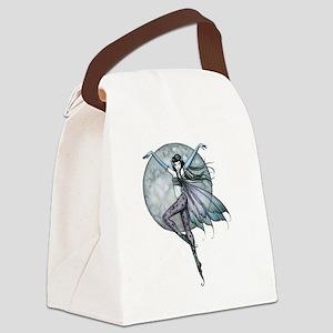 lunas ascent transparent backgrou Canvas Lunch Bag