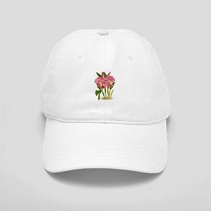 Pink Cattleyea Labiata Orchid Cap