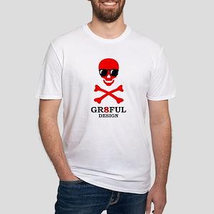 GR8FUL DESIGN SKULL SHADY T-Shirt