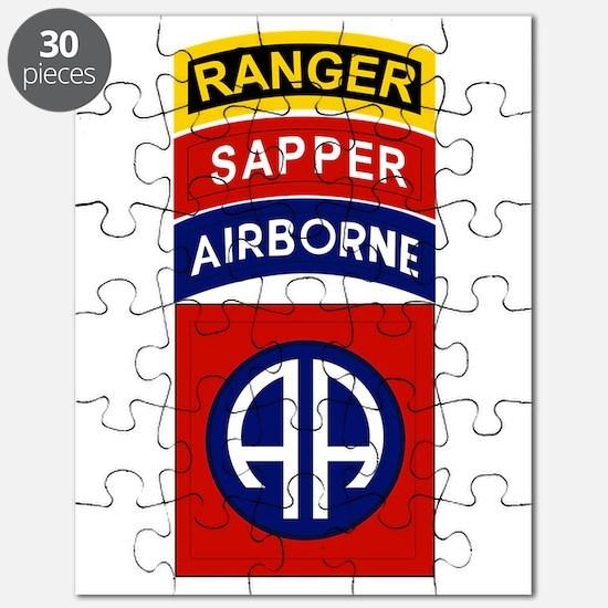 82nd Airborne Ranger Sapper Puzzle