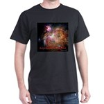 Michelangelo And The Orion Nebula Dark T-Shirt