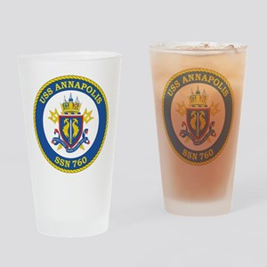 Uss Annapolis Ssn 760 Drinking Glass