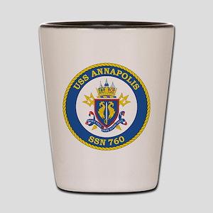 Uss Annapolis Ssn 760 Shot Glass
