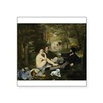 Jack Russel in Manet famous painting Sticker