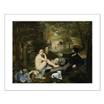 Jack Russel in Manet famous painting Small Poster