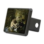 Jack Russel in Manet famous painting Rectangular H