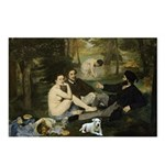 Jack Russel in Manet famous painting Postcards (Pa
