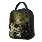 Jack Russel in Manet famous painting Neoprene Lunc