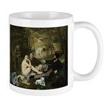 Jack Russel in Manet famous painting Mugs