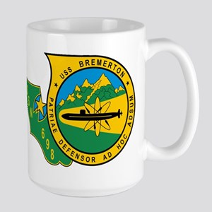 Uss Bremerton Ssn 698 Mugs