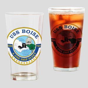 Uss Boise Ssn 764 Drinking Glass