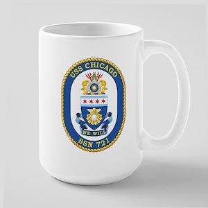 USS Chicago SSN 721 Mugs