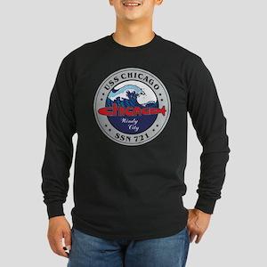USS Chicago SSN 721 Long Sleeve T-Shirt