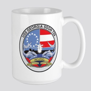USS Georgia SSGN 729 Mugs