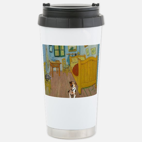 Pets Van  Gogh Room Stainless Steel Travel Mug
