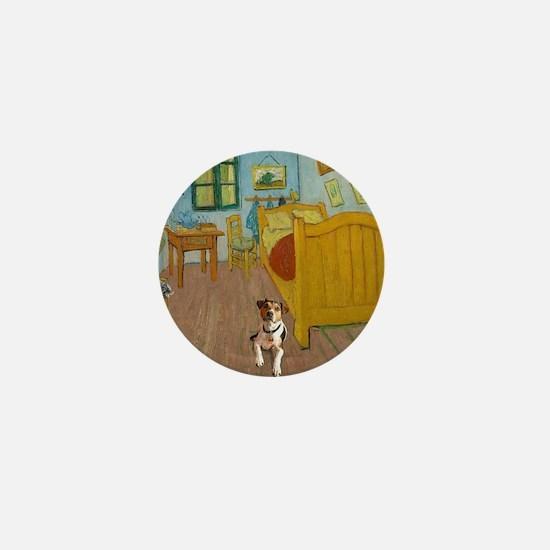 Pets Van  Gogh Room Mini Button
