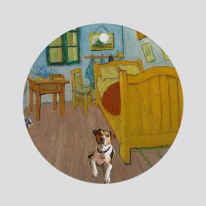 Pets Van  Gogh Room Round Ornament