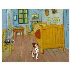 Pets Van  Gogh Room Poster