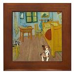 Pets Van Gogh Room Framed Tile