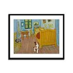 Pets Van Gogh Room Framed Panel Print