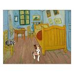 Pets Van Gogh Room Small Poster