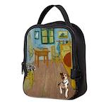 Pets Van Gogh Room Neoprene Lunch Bag