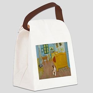 Pets Van Gogh Room Canvas Lunch Bag