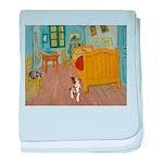 Pets Van Gogh Room baby blanket