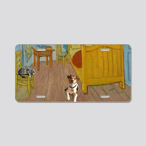 Pets Van Gogh Room Aluminum License Plate