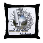The Road Beckons Throw Pillow