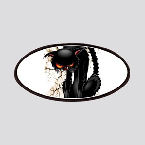 Black Cat Evil Angry Funny Character Patch