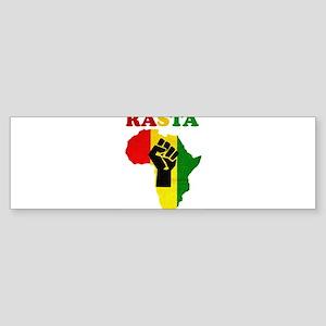 Rasta Black Power Africa Bumper Sticker