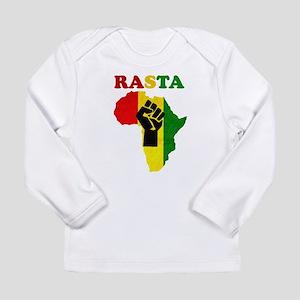 Rasta Black Power Africa Long Sleeve T-Shirt