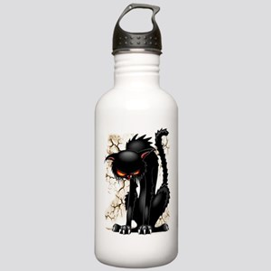 Black Cat Evil Angry Funny Character Sports Water