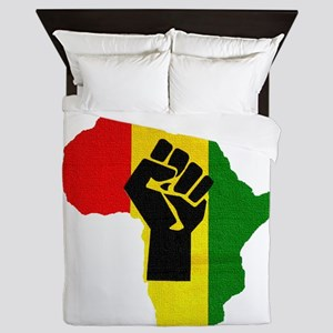 Rasta Black Power Africa Queen Duvet