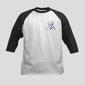 Pocket Coton Kids Baseball Jersey