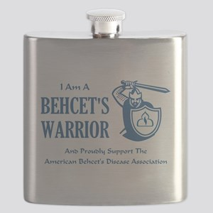 I AM A BEHCETS WARRIOR Flask