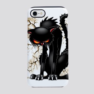 Black Cat Evil Angry Funny Character iPhone 8/7 To