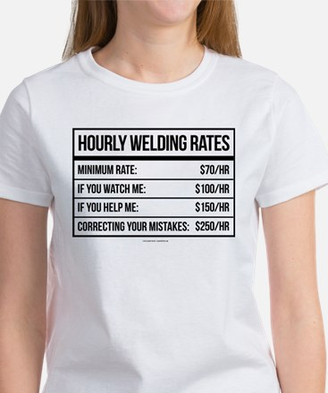 Hourly Welding Rates T-Shirt